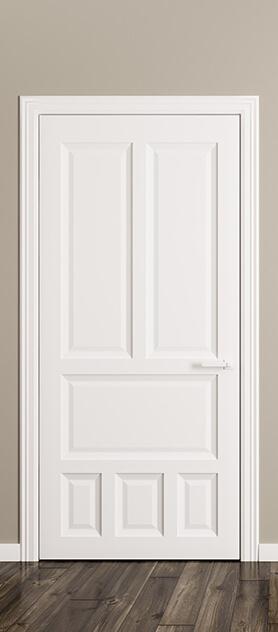 Porta pantografata bianca